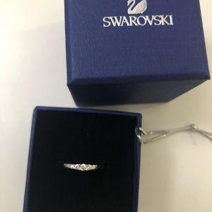 NWT Swarovski Frissons Ring Size 52